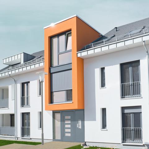 Immobilie einer Hausverwaltung